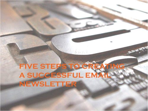 how to make an e newsletter